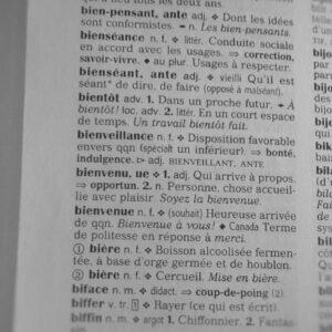 definition bienveillance petit robert